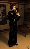 The disingenuous geisha by Chronophontes