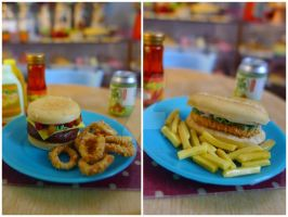 Littlest Fast Food 1/6 by LittlestSweetShop