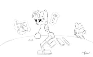 EqD Training Grounds Day 22 by lunarapologist