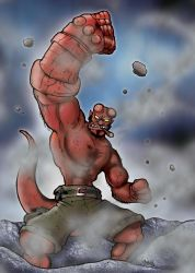 Mad Hellboy by Gmeliss