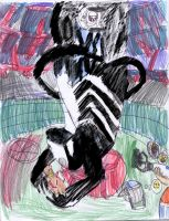 Symbiote takes over Aperture by Agent-G245