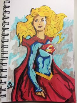 Supergirl Rebirth by Lance-Danger