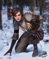 Commission: Kanista Thorpe by HalChroma