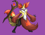 Mega Delphox by LurkingTyger
