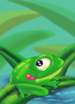 Little frog by Pepius