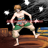 Link a sexy sumo? by yesi-chan