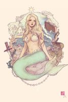 The Little Mermaid by yasa-hime