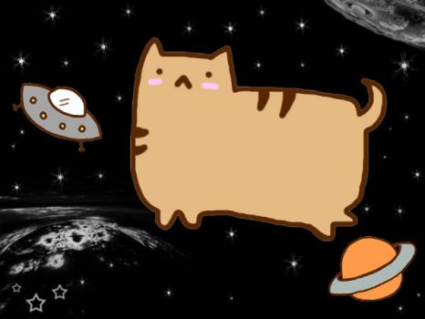 Fred the cat IN SPACE. by ReMashi