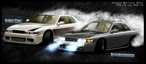 'Drift Dreams: S13's' by MoncefFaik