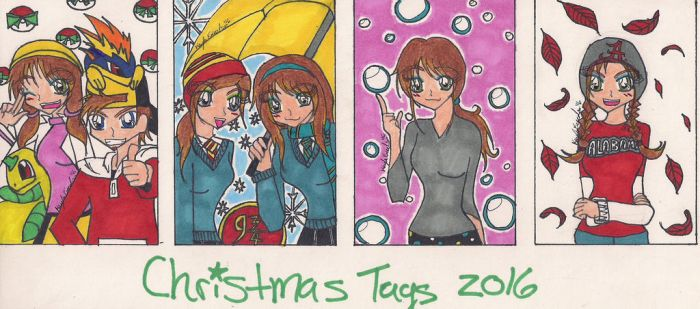 X-mas Tags 2016 by rumiko18