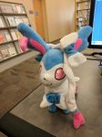 Sylveon at the Library by NovaKaru