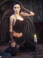 Black Angel 16 by LaMuserie
