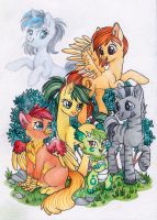 Friends by Red-Watercolor