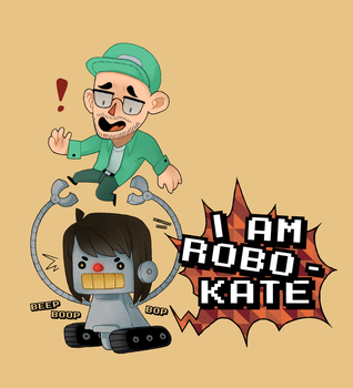 Robo-Kate DESTROY by SaberToothedOlivia