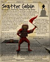 Labyrinth Guide-Snatter Goblin by Chaotica-I