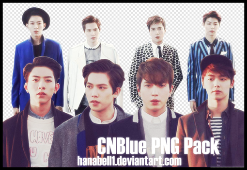 CNBlue PNG Pack by HanaBell1