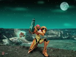 Samus Returns by Erikku8