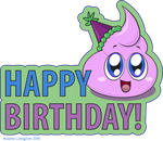 Scoot Wishes You a Happy Birthday by MeMiMouse