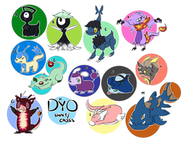 PKMNation: Bugs and Misfits Clutch by peariphery