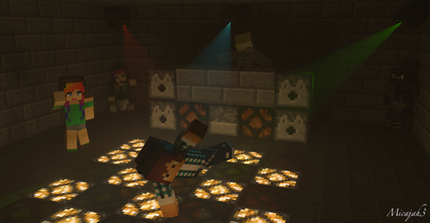 Minecraft Rave by micajah3