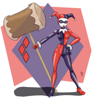 30 Girls Day 3 - Harley Quinn by Dasutobani