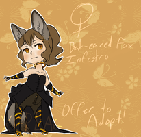 Offer to Adopt: Bat Eared Fox Infestro [CLOSED] by xep-lag