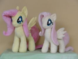 The Evolution of Fluttershy by WhiteDove-Creations