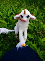 Handmade poseable Baby Lambicorn by KaypeaCreations