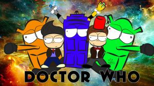 Doctor Who by Kaktusacka