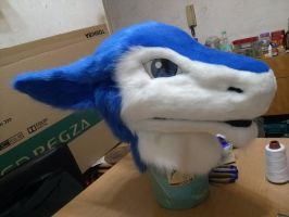 Sergal Head WIP (cont') by Dingz