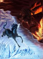 A Song of Ice and Fire by Dalgeor