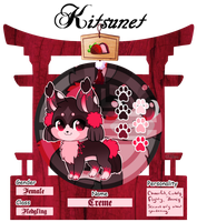 Kitsunet Reference: Creme by rennegades