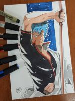 Day 242 Gintoki by TomatoStyles
