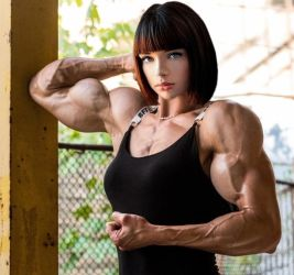 Marie Grippon Muscled by Turbo99