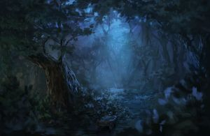 through the forest by kircida