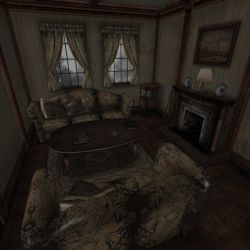 [Silent Hill 2] Fireplace room by shprops4xnalara
