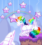 Robot Unicorn Attack Prequel by BiSnarkian
