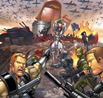 GI JOE card game art by ColtNoble