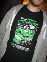 'Instruments of Evil' Movie Promo Shirts by Huwman