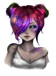 Galaxy Paint by PoeticTorment