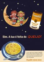 Campbell's Soup - Cheese Moon by DougAzevedo