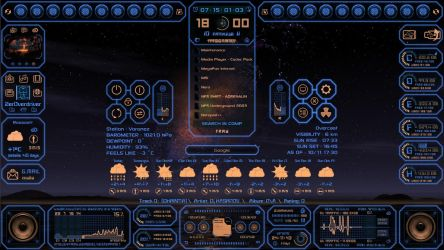 Auto System HUD Tech fantasy new version by ZerOverdriveRU