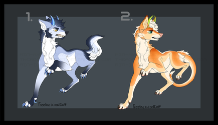 Canine Designs Auction [2/2][OPEN] by TheAdoptArtist