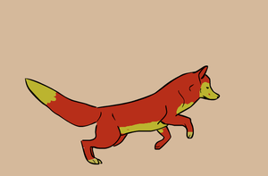 A fox named wolf by XanderCakes