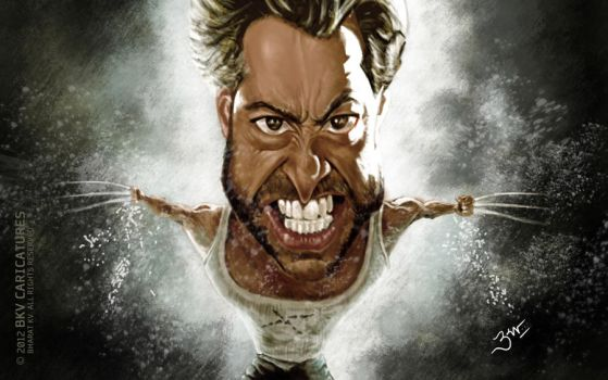 Wolverine - Caricature by libran005