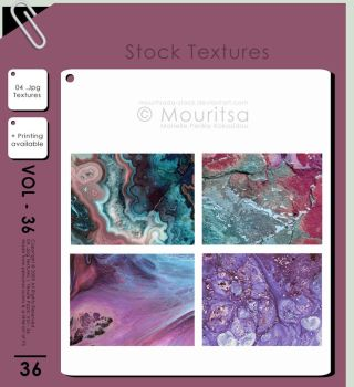 Texture Pack - Vol 36 by MouritsaDA-Stock