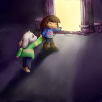 To the Surface (Undertale) by TheMingx