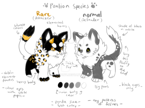 Panlion OPEN species by Twinony