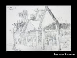 Sketch in Singapore Zoo by gekatarina