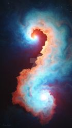 Seahorse Nebula by fractist